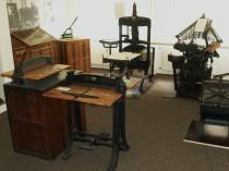 Cloos`sche Drukerei: Maschinen und Einrichtungsgegenstände